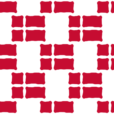 danish flag: Seamless pattern of stylized flags of Denmark. Constitution or National Day flat staggered seamless pattern. Colors of Danish flag. Happy Constitution day of Denmark background.
