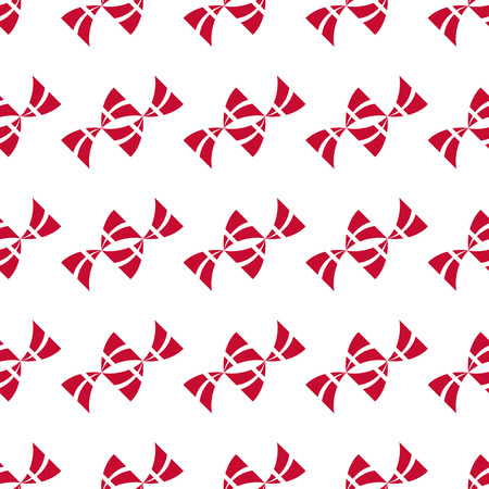 Seamless pattern of stylized flying flags of Denmark. Constitution or National Day flat pattern. Colors of Danish flag. Happy Constitution day of Denmark. Repeated vector background. Ilustrace
