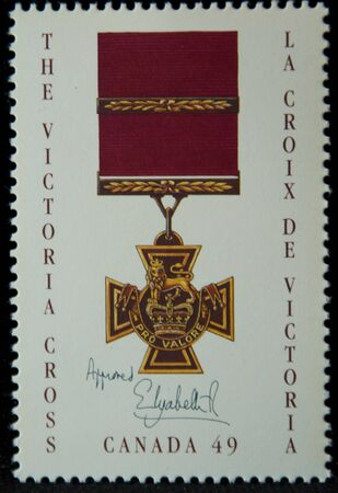 stamp of the victoria cross
