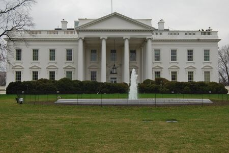The White House as seen from Pennsylvania Avenue