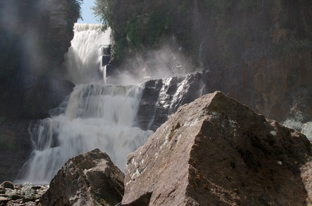 malone: High Falls, near Malone, New York
