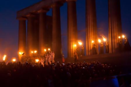 ベルテイン祭り 報道画像