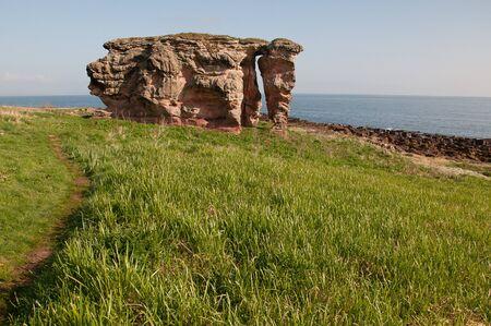 スコットランドの岩の形成