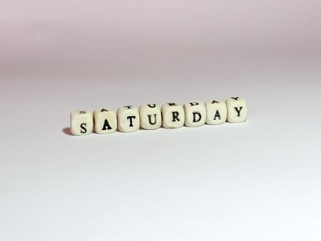 Saturday Фото со стока - 38753060