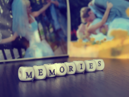 memories: Happy Memories Stock Photo