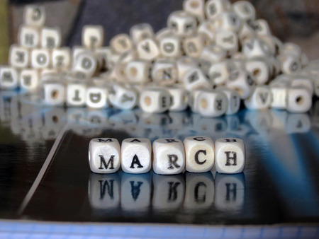 march: March Stock Photo