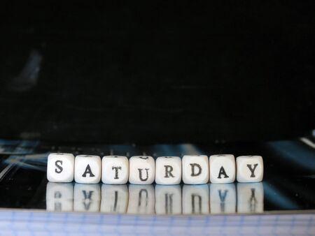 Saturday Фото со стока - 40089803
