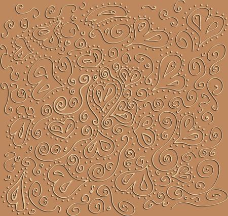 hearts pattern photo