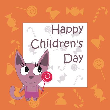 Childrens Day the National Childrens Day Illustration