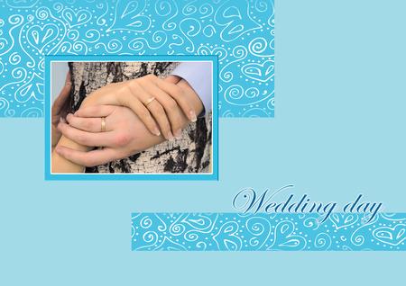 wedding day: card for wedding day - congratulations