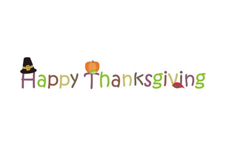 Happy Thanksgiving Day - Vector