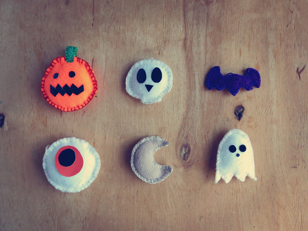 halloween kids: Soft toys decorations for Halloween