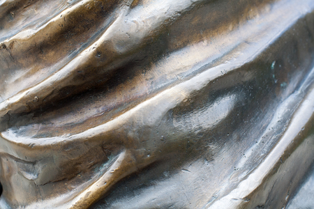 Bronze wavy texture. Background. 版權商用圖片