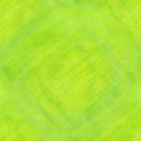 seamless abstract green lined watercolor background, texture. Stock Photo
