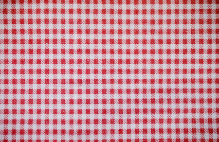red textile checkered towel texture. background, kitchen.