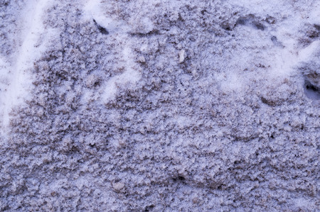 polluted city snow texture. urban, background.