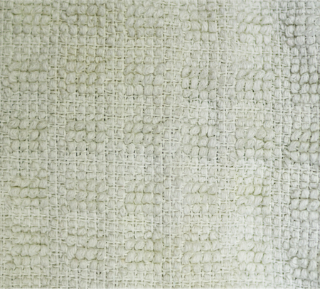 white detailed fabric terry cloth texture close-up. background, still life.