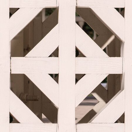 seamless white painted wooden fence pattern. texture, architecture.