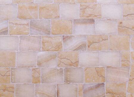 light orange marble mosaic texture. background, architecture.