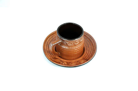 Ceramic Country Cup for coffee, tea and all hot drink photo