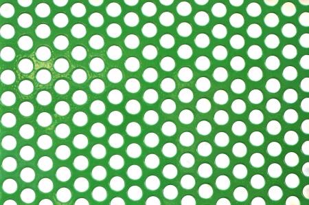 spotty: abstract green color poka dot background Stock Photo