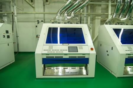 screening: Factory equipment  color screening machinery