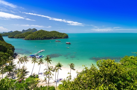 thong: View of Ang Thong National Marine Park, Thailand