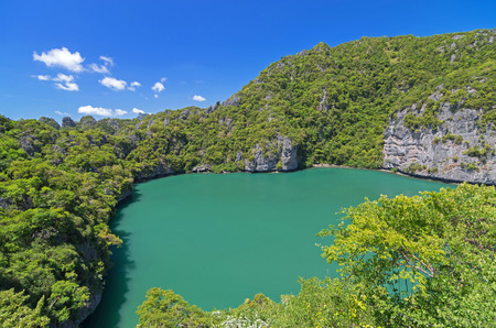 Ko Mae Ko lake in Ang Thong Marine National Park, south of thailand Stock Photo - 22902929