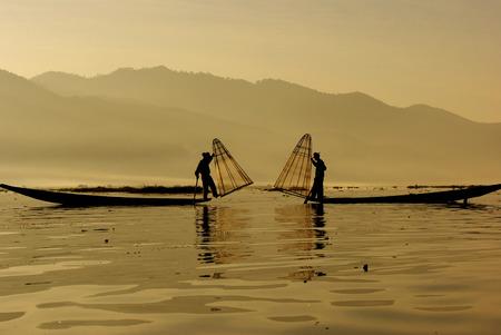 inle: Fisherman of Inle Lake, Myanmar