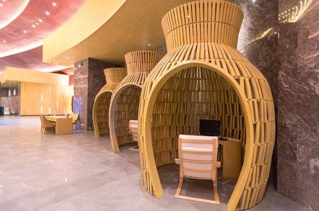 graceland: KHAOLAK, THAILAND - NOV 1   Lobby of the SENTIDO Graceland Khao Lak Resort   Spa is located on Bangsak Beach and is located 90 kilometres north of Phuket, on November 1, 2013 in Khaolak, Thailand