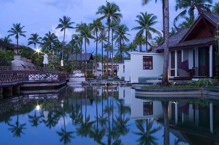 graceland: KHAOLAK, THAILAND - NOV 2   Architecture exterior of the SENTIDO Graceland Khao Lak Resort   Spa is located on Bangsak Beach and is located 90 kilometres north of Phuket, on November 2, 2013 in Khaolak, Thailand Editorial