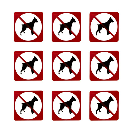 no dogs sign photo