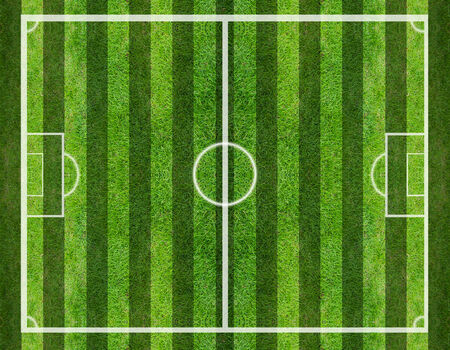 grassy field: soccer field, Green grass background and texture Stock Photo