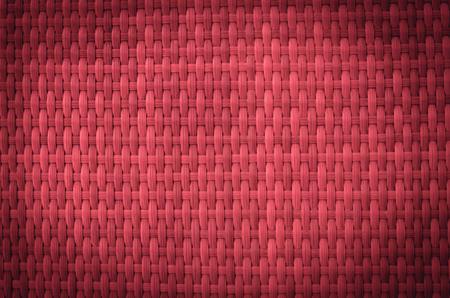 background red: Vintage rojo material de bamb� Fondo de mimbre