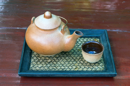 clay teapot photo