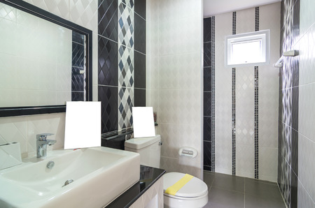 Interior bathtoom in Luxury Home photo