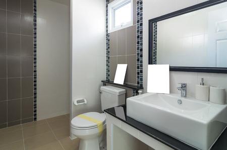 Interior bathtoom in Luxury Home photo