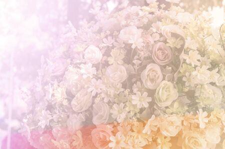 color in: dulce de color en fondo del estilo suave Foto de archivo