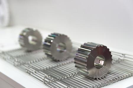 titanium: titanium gears