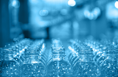 manufacturing materials: raw of bottle