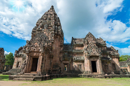 rung: Phanom Rung historical park at Buriram Province,Thailand, Public architecture for travel