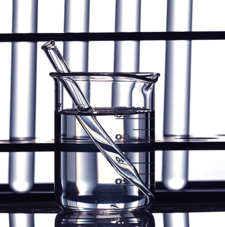 material de vidrio: Laboratorio de vidrio