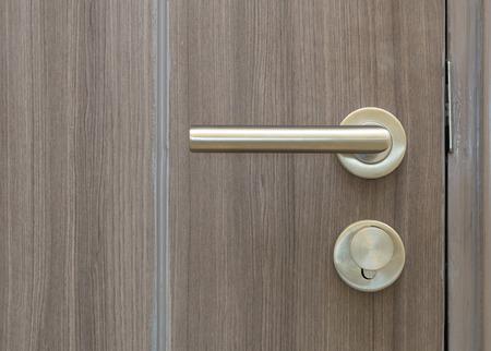 room door: Door lock with luxury room