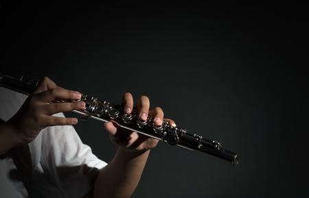 Flute music playing flutist musician performer, musical instrument photo