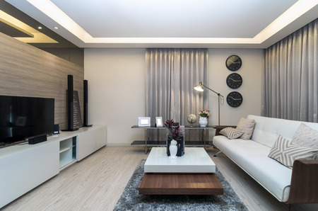 entrances: Luxury Interior living room
