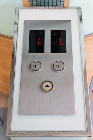 to button up: Elevator Button up direction with L for lobby floor
