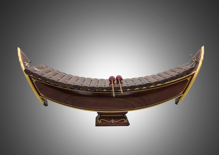 thai musical instrument: Thai musical instrument (Alto xylophone), asian instrument