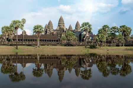 siem: Angkor Wat at Siem Reap. Cambodia