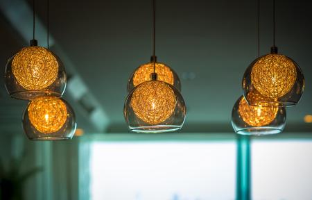 l'éclairage de luxe décoration Banque d'images