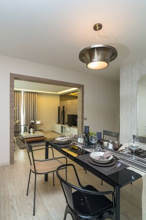 dinning: Luxury Interior kitchen, Dinning room